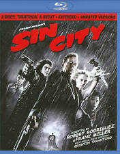Sin City (Blu-ray Disc, 2011, 2-Disc Set, Recut, Extended, Unrated)