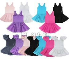 Toddler Girls Sleeveless / Short Sleeve / Leotard Dancer Ballet Dress Dancewear