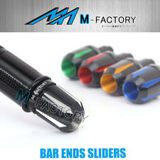 Tforce CNC Bar Ends Sliders Fit Suzuki Burgman 250 400 650 Skywave 08-14