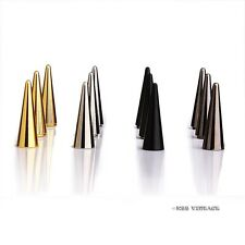 【Cone 1028b】50 Metal Punk Spikes Gothic Cone Stud Screwback Large 1 1/8''