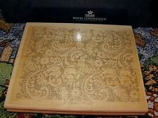 STAMPIN UP VICTORIAN LACE LARGE BACKGROUND RUBBER STAMP 1997