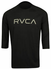 RVCA Big RVCA 3/4 Sleeve Raglan Shirt (Black/Gray)