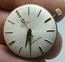 VINTAGE OMEGA SEAMASTER AUTOMATIC RARE WAVY DIAL MENS WATCH MOVEMENT & DIAL 550