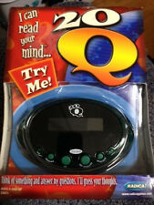 Radica 20Q Gold. NEW SEALED Green Handheld Game. Can Read Your Mind. Questions.