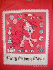 "OLD NAVY/  MY LITTLE PONY ""BIRTHDAY PARTY"" GRAPHIC TEE SHIRT NWT :"