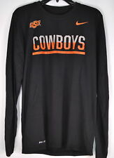 "Nike Men's Oklahoma State, ""COWBOYS"", DriFit- Long Sleeve T-shirt, Black"