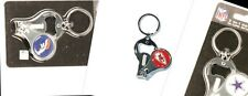 NFL Football Teams 3 in 1 Multi Key Ring Nail Clipper Bottle Opener Keychain
