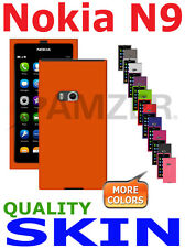 AMZER Silicone Skin Luxe Argyle Cover + extra Case Screen Protector For Nokia N9