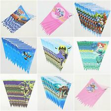 Children Birthday Themed Buntings Banners Party Decoration Party Supplies