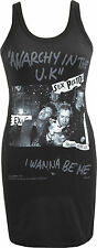 LADIES DRESS SEX PISTOLS ANARCHY IN THE UK I WANNA BE ME BANNED PUNK S-XL