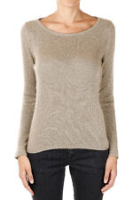 ETRO New Woman Gold Sweater Wool Jumper Sweater Made in Italy NWT