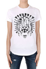 DSQUARED2 Dsquared² Women Short Sleeve T-shirt Cotton With LOGO Made in Italy