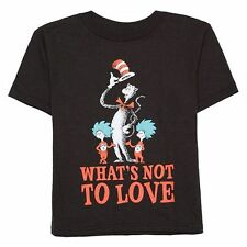 "NWT Dr. Seuss Cat In The Hat - ""What's Not To Love?"" Tee: Toddler Boys 4T"