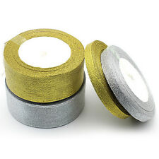 Satin Silk Ribbon 25yards Wedding Party Decoration Craft Gifts Wrapping H1H