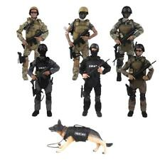 1/6 Military Army SWAT Special Forces Soldier 12'' Action Figures With Accessory