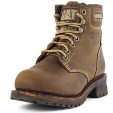 Caterpillar Sequoia 6 Mens Boots Beige New Shoes