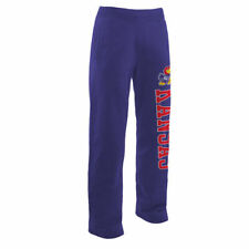 Fanatics Branded Kansas Jayhawks Royal Sideblocker Fleece Pants