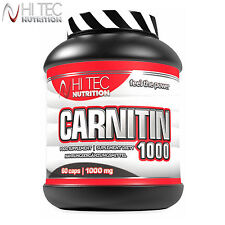 Carnitin 1000 60-180 Caps. L-Carnitine Fat Burner Turn Fat Into Energy Slimming