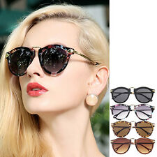 Unisex Vintage Women's Mens Sunglasses Arrow Style Metal Frame Round Sunglas BE