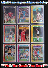 ☆ Topps 1979 Pale Blue Footballers - 1 to 225 (G) *Pick The Cards You Need*
