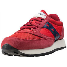 Saucony Jazz Original Vintage Mens Trainers Red Navy New Shoes