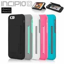 Incipio STOWAWAY Kickstand Credit Card Wallet Case for Apple iPhone 6 and 6s NEW
