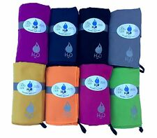 H2O Microfiber Sport Towel Compact Fast Drying Travel Gym Beach Yoga Camping