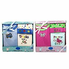 3 PCS BABY GIFT SET FOR BOYS OR GIRLS 0/6 MONTHS