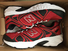 NEW New Balance MT481 CP2 Trail Running Shoes X-Wide 4E Red & Black size 7.5