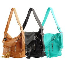 Fashion Women Ladies Tote Shoulder Messenger Cross Body Bag Backpack Handbag AG