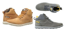 Caterpillar Galen Mid Men Round Toe Leather Boot Honey Rest
