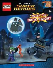 LEGO DC Super Heroes: Enter the Dark Knight by Ameet Studio Staff (2016, Paperb…