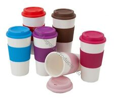 450ml 16oz Thermal Insulated Double Wall Cup Tea Coffee Travel Mug Take Away