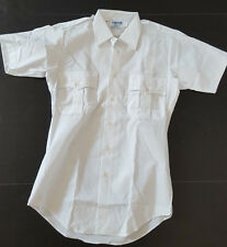 Mens Sz Small Paragon by Elbeco Security Work Uniform S/S Shirt Chest Pockets