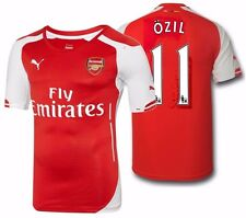 PUMA MESUT OZIL ARSENAL AUTHENTIC PLAYERS MATCH HOME JERSEY 2014/15.