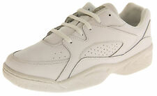 Mens LEATHER Casual Lace Up Cool Fashion Trainers Sz Size 7 8 9 10 11 12 13 14