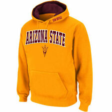 Stadium Athletic Arizona State Sun Devils Gold Arch & Logo Pullover Hoodie