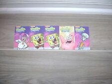 Game Time - Spongebob Squarepants 5 Cards Squidward, Patrick Star, Sandy Cheeks