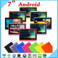 New 7 inch Android 4.4 Quad Core Tablet PC 8GB WIFI Bluetooth HD Touch Screen US