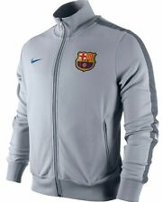 NIKE FC BARCELONA AUTHENTIC SHOWTIME N98 TRACK JACKET Grey/Blue.