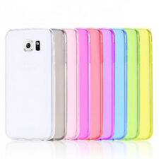 Ultra Thin Silicone TPU case SOFT Rubber Gel cover For Samsung Galaxy s6 edge