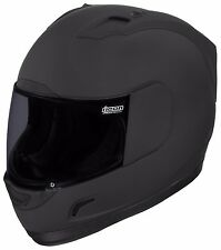 ICON ALLIANCE SOLID DARK HELMET