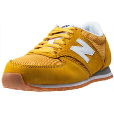 New Balance U420YWG Trainers Yellow White New Shoes