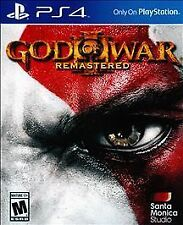 God of War III: Remastered (Sony PlayStation 4, 2015) FAST SHIPPING!
