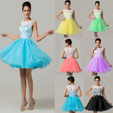 Short & Mini Homecoming Party Evening Gown Formal Bridesmaid Prom Cocktail Dress