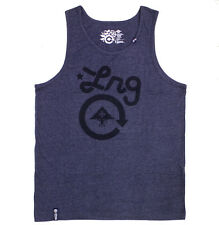 Lrg Core Collection Tri Blend Tank Top Navy Heather