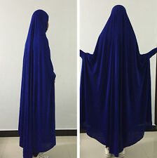 Muslim Dresses Kids Girls Maxi Clothes Scarf Prayer dress Islamic Abaya Kaftan