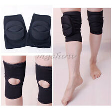 1 Pair Knee Pads For All Sports Dance Training Gym Black Kneecap Protector Pads