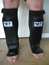 GFY ~ MMA Slip In Grappling Shin Instep Combat Guards All Sizes