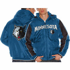 Minnesota Timberwolves Slate Blue Rover Poly Hooded Full Zip Jacket - NBA